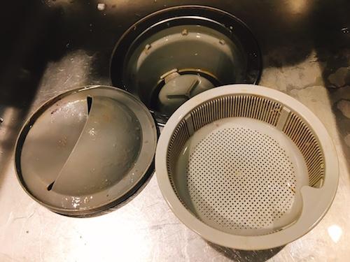 排水溝掃除 酸素系漂白剤