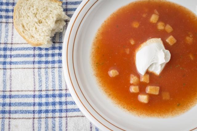 トマトスープ レシピ