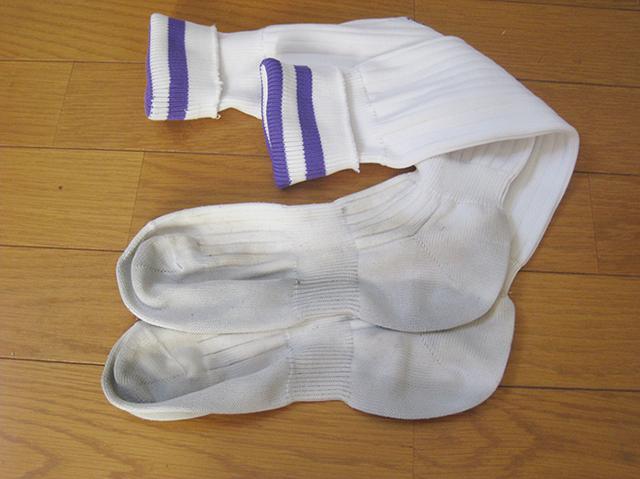 靴下の黒ずみ