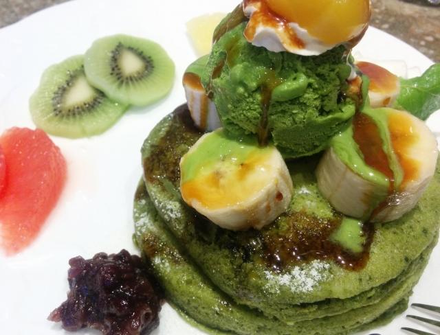 野菜 ホットケーキ